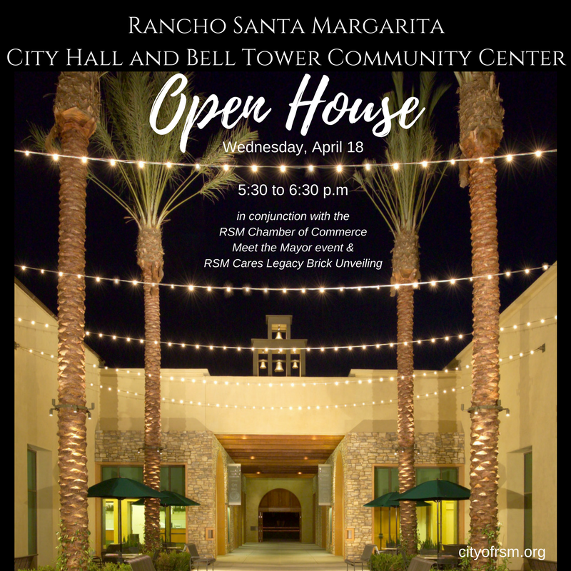 Rancho Santa Margarita City Hall and Bell Tower Community Center Open House