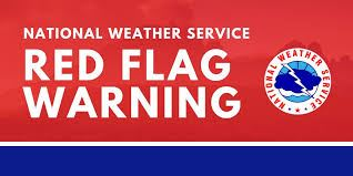 Red Flag Warning graphic
