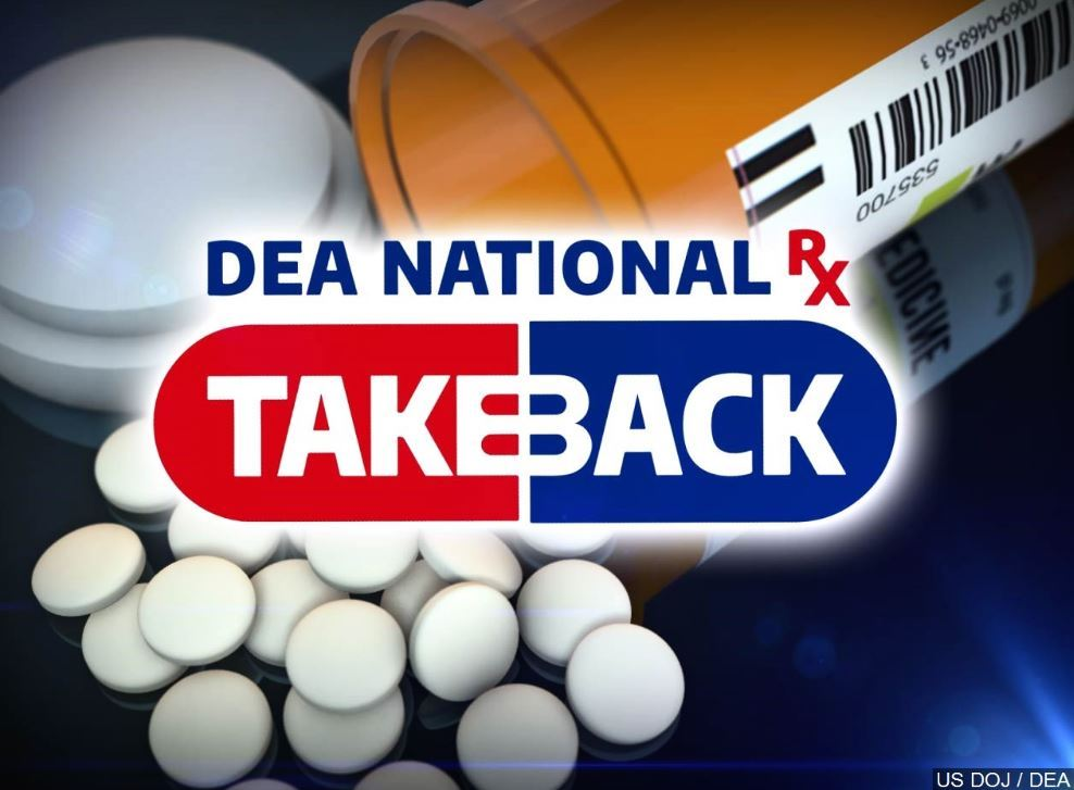 Drug Take Back Day graphic