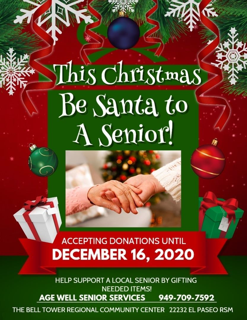 Be a Santa Christmas Flyer