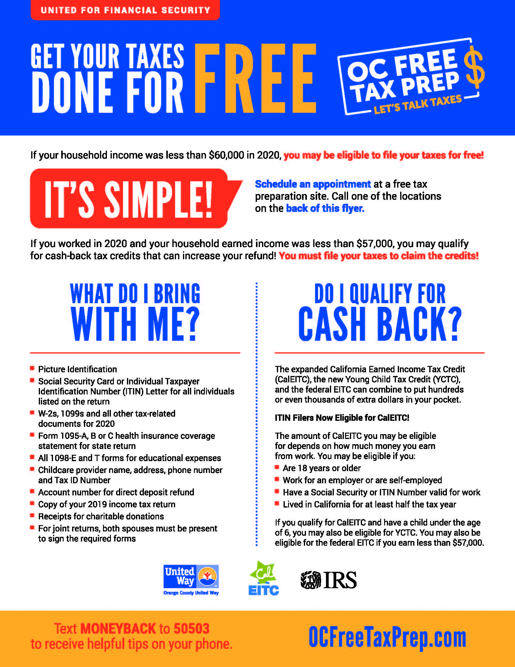 OC Free Tax Prep Flyer 2021_English_Page_1