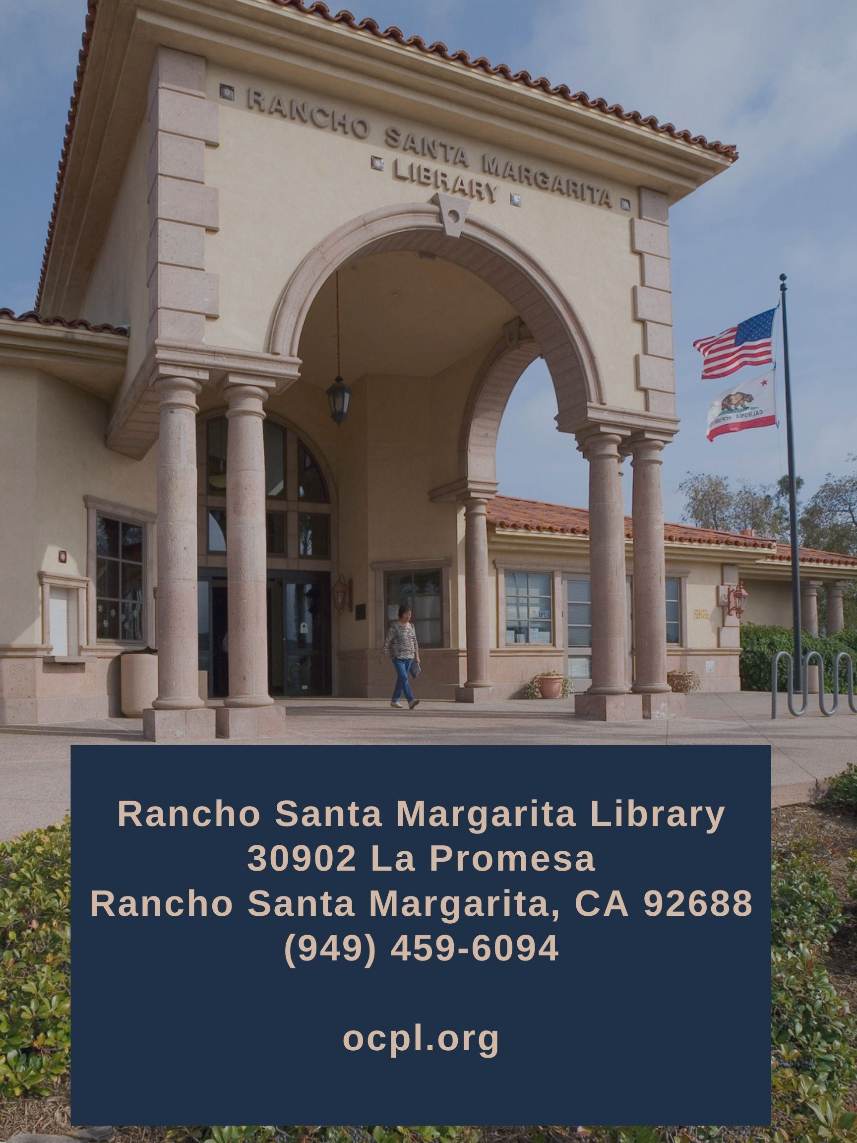 Rancho Santa Margarita Library graphic