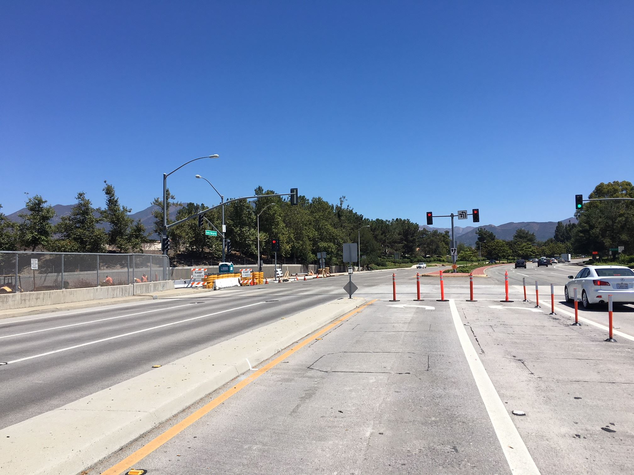 Caltrans SR 241 On -Ramp Construction