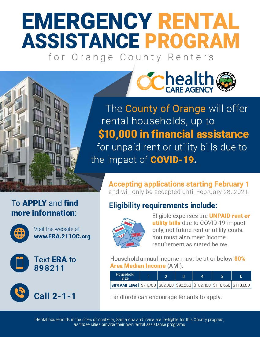 Rent Assistance Flyer